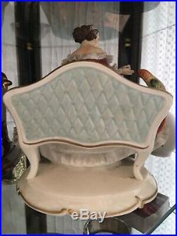 Antique Rare Volkstedt Porcelain Figure Art Deco Beautiful