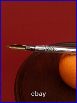 Antique Russian c1900 Silver Dip Pen Beautiful Very Rare
