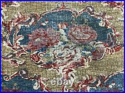 Auth 1970's Palatial Heriz RARE Square Gul Farangi Beauty Camel 14x14 Ft