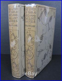 BEAUTIFUL VICTORIAN FINE BINDINGS Gallant Ladies ANTIQUE BOOK SET Rare Jackets