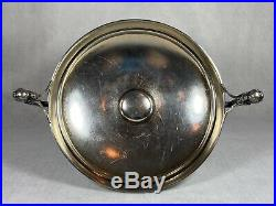 Beautiful LARGE Gorham Sterling Compote/Tazza/Bowl Prob Medallion 1868 RARE
