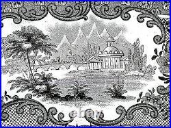 Beautiful Rare 1810-1846 Cork & Edge Verona Wall Hanging Large 20 Platter