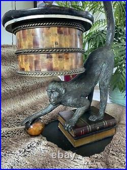 Beautiful Rare Maitland Smith Bronze Lamp