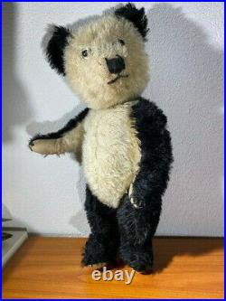 Beautiful old rare antique Chiltern Panda Teddy Bear C1930/40