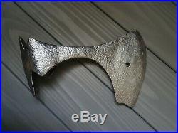 Beautiful rare battle ax Viking Kievan Rus. 380 gr