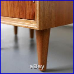Beautiful rare pair of bedside cabinets Archie Shine Heals G-Plan Mid-Century