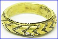 Beautifully Crafted 16th 17th century Renaissance Silver-gilt Finger Ring RARE
