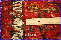 C1940s ANTIQUE VEGY DYE RARE COLLECTIBLE CAUCASIAN KILIM 2'8x3' COLORFUL BEAUTY