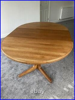 C 60s/70s Danish Teak Glostrup Mobelfabrik Dining Table. Beautiful Rare Piece