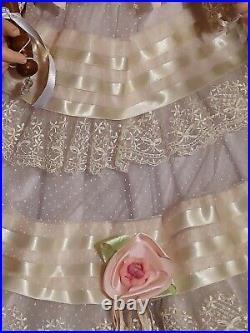 Fayzah Spanos Garden Beauty Doll 28 Lmt Ed 300 Vynal Baby RARE 2003