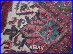 RARE BEAUTIFUL RUG HERIZ (KAZAK) 8X11.6 SERAPI Ca 1950's -1091