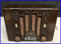 Rare Antique Kadette CAMEO 1937 BAKELITE Tube Radio Model 150 Beautiful
