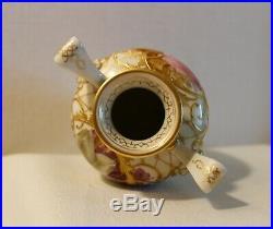 Rare & Beautiful Kpm Flower Vase 19th Century