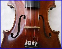 Rare Beautiful Old German Master Violin 1947 Video Antique 190
