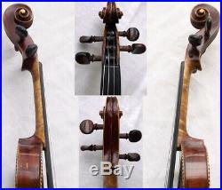Rare Beautiful Old German Master Violin Video Antique 222