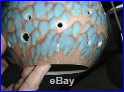 Rare Beautiful Vintage MID Century Octopus Hanging Chandelierreticulated Orbs
