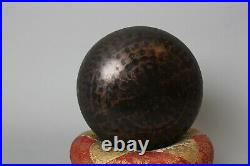 Rare Buddhist Bronze Temple Bell Rin with beautiful sound! HH51