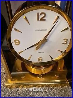 Rare Jaeger Lecoultre Chinoiserie Atmos Clock Full Set Beautiful