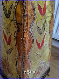 Rawhide Vintage Floor Lamp Rare Beautiful Stunning Lamp