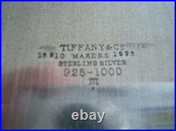 TIFFANY STERLING SILVER TALL CANDLESTICKS 8 3/4 c1915 RARE & BEAUTIFUL