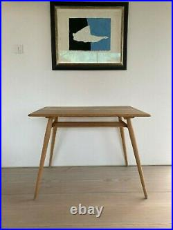 Very Rare And Beautiful Ercol Kitchen/dining/work Table With Magazine Rack