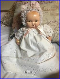 Vintage 17 Effanbee Baby LAMBKINS- RARE! Beautiful Vintage Baby Doll